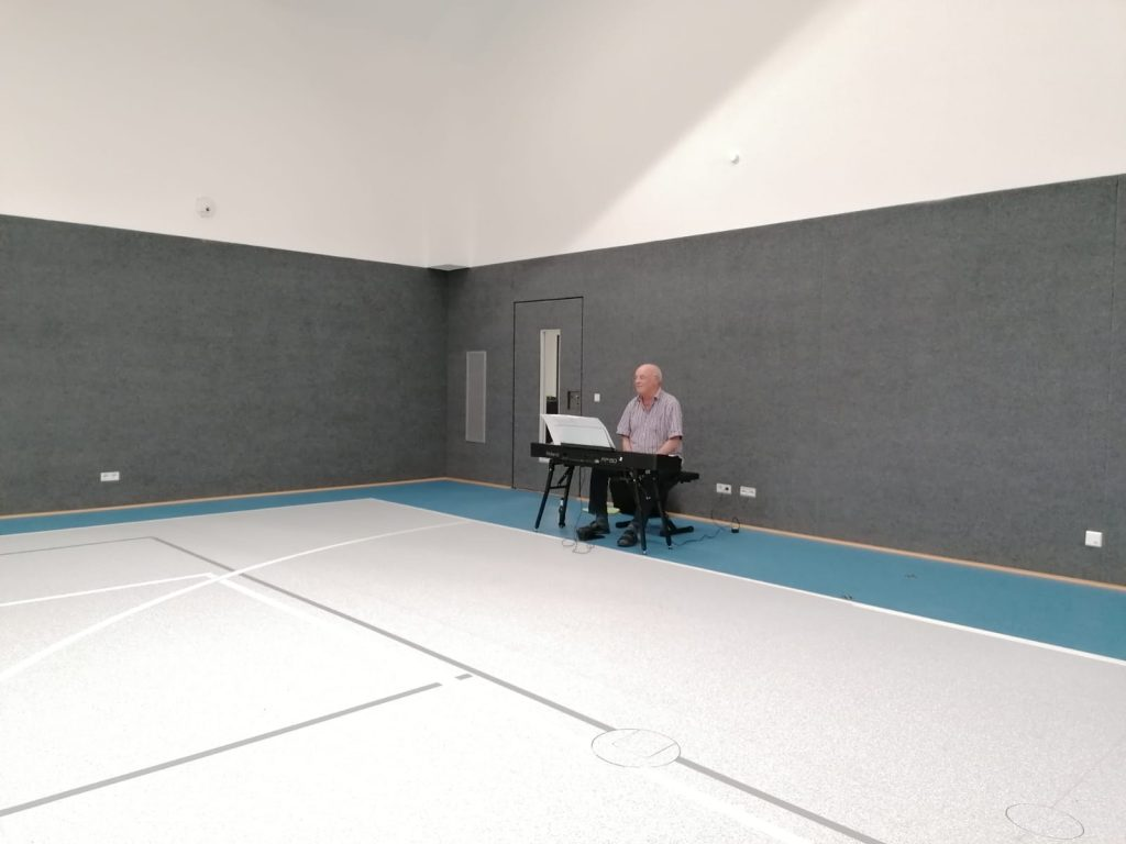 Chorprobe Dorfhalle September 2020